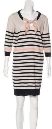 Louis Vuitton Striped Mini Dress w/ Tags
