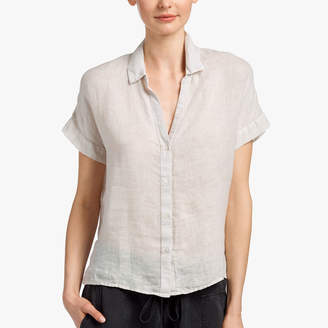 James Perse LIGHTWEIGHT LINEN SHIRT