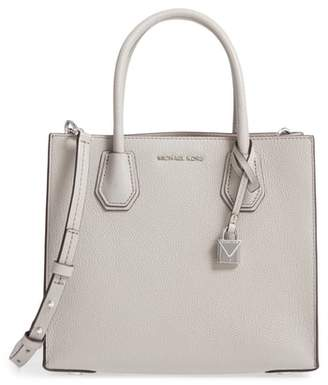MICHAEL Michael Kors 'Medium Mercer' Pebbled Leather Tote