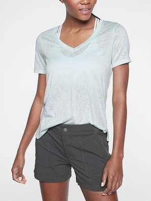 Athleta Breezy Scoop V Tee