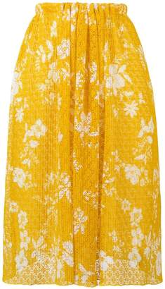eca7d2b51 Yellow Lace Skirt - ShopStyle UK