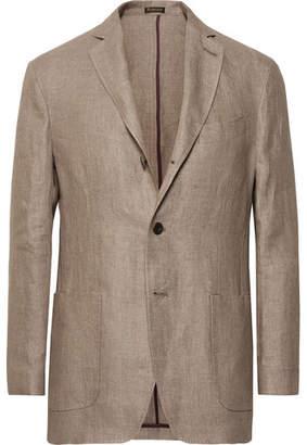 Rubinacci Unstructured Linen Blazer