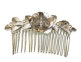 Co Hepburn & Pearl Leaf & Flower Comb