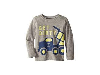Life is Good Get Dirty Crusher T-Shirt Long Sleeve (Toddlers)