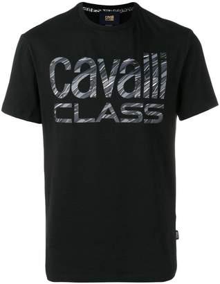 Class Roberto Cavalli logo T-shirt