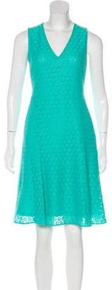 Akris Punto V-Neck Sleeveless Dress
