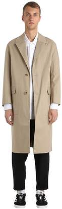 MACKINTOSH Oversized Rubberized Cotton Coat