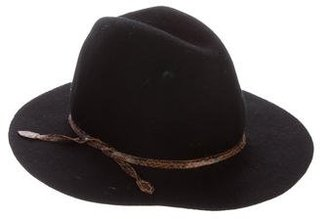 Hat Attack Felt Hat $65 thestylecure.com