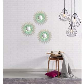 "Mainstays 3 Pack Sunburst Decorative 10"" Mirrors"