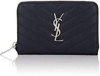 Saint Laurent Women's Monogram Small Leather Wallet