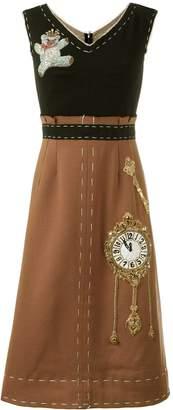 Dolce & Gabbana Wonderland patch dress