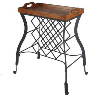 Silverwood Hawthorne Console Table and Wine Rack