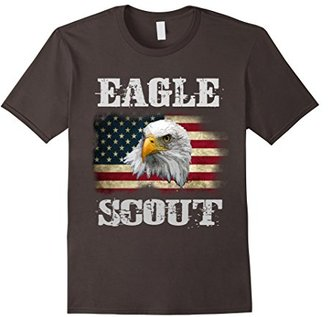 Patriotic Eagle Scout T-Shirt eagle American Flag Shirt $16.99 thestylecure.com