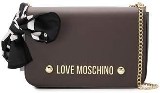 Love Moschino square shaped shoulder bag