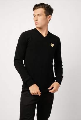 Comme des Garcons Men's V-Neck Pullover