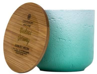 Chesapeake Bay Candle Concrete Jar Candle Sunburst Melon 5oz