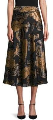 Lafayette 148 New York Kamara Paisley Skirt