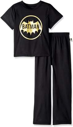 Batman Big Boys' 2-Piece Pajamas