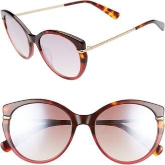 75a6a3d5d2 Longchamp Heritage 54mm Gradient Cat Eye Sunglasses