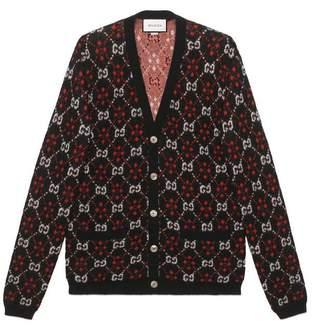 Gucci GG diamond wool cardigan