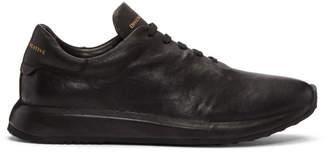 Officine Creative Black Race 1 Sneakers