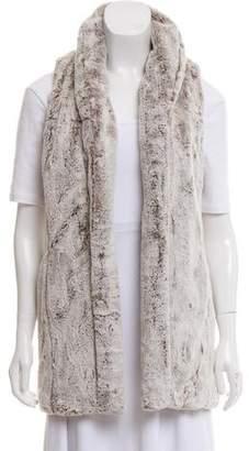 Alice + Olivia Faux Fur Long Vest