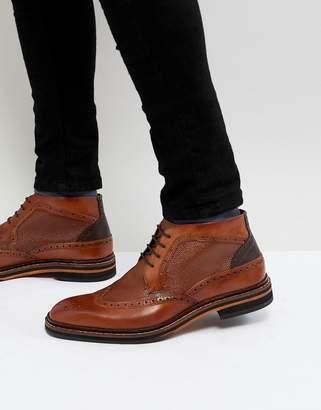 Ted Baker Cinika Short Brogue Boots