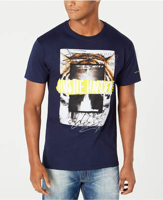 Sean John Men's Hustle Harder Graphic T-Shirt