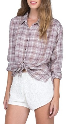Women's Volcom Plaidazzle Shirt $55 thestylecure.com
