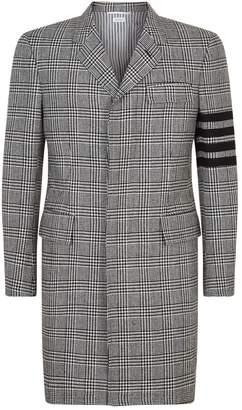 Thom Browne Check Overcoat