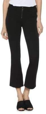 Paige Colette High-Rise Crop Flare Jeans