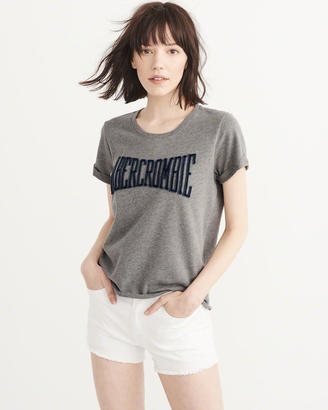 Embroidered Logo Tee $34 thestylecure.com