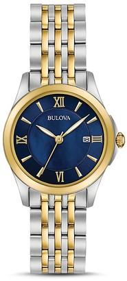 Bulova Two-Tone Modern Watch, 27mm $299 thestylecure.com