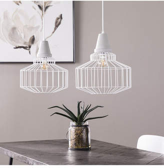 Southern Enterprises Robin Cage Pendant Lamp 2 Piece Set