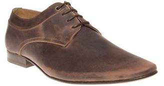 Sole New Mens Brown Soul Leather Shoes Lace Up