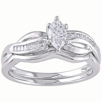 MODERN BRIDE CT. T.W. Diamond Bridal Set
