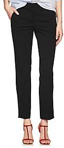Derek Lam Women's Drake Crepe Slim Ankle Pants - Black