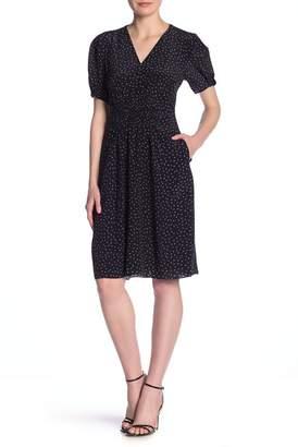 Rebecca Taylor Hummingbird Patterned Silk Dress