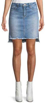 Joe's Jeans High-Low Denim Skirt