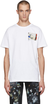 Co Virgil Abloh c/o SSENSE SSENSE Exclusive White CUTTING ROOM FLOOR Virgil Work Surface T-Shirt