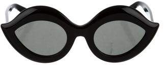 Gucci 2017 Cat-Eye Eyeglasses