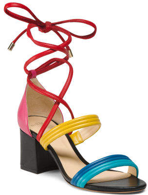 Made In Brazil Strappy Leather Sandals
