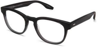Barton Perreira Men's Byron Universal Fit Square Optical Frames, Matte Turtle Dove $350 thestylecure.com