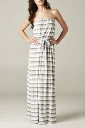Love Stitch Lovestitch Strapless Belt Dress