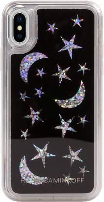 Rebecca Minkoff See Through Me Glitter Galaxy iPhone X/Xs Case