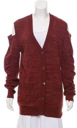 Zero Maria Cornejo Silk Blend Knit Cardigan
