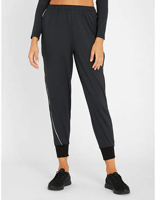 Good American Electric Feel woven jogging bottoms