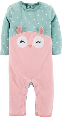 Carter's Long Sleeve Jumpsuit - Baby Girl