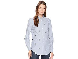 Joules Lucie Printed Classic Fit Shirt