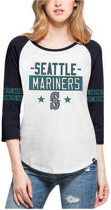 '47 Women's Seattle Mariners Triple Crown Raglan T-Shirt